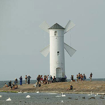 Świnoujski wiatraczek, czyli Stawa Młyny