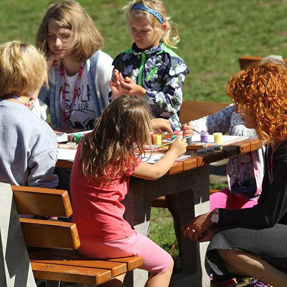 W czwartek Fama bawiła dzieci na Warszowie