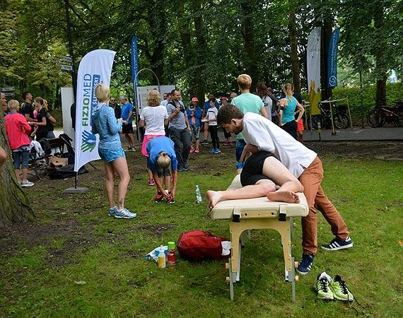 55. parkrun - Fizjoterapeuci wsparli biegaczy