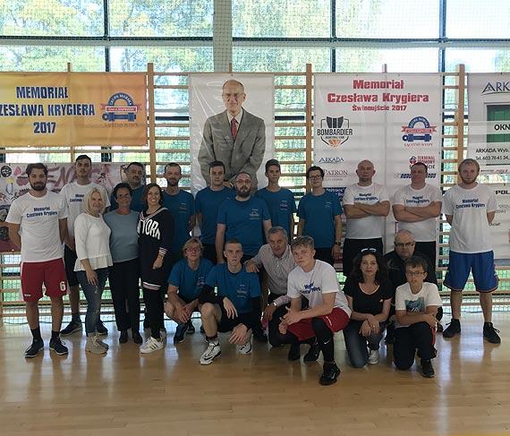 Koszykarze MOS Spójnia Stargard najlepsi w V Memoriale Czesława Krygiera!