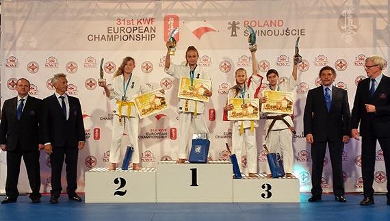 Mistrzostwa Europy Karate Kyokushin – 4 medale moryńskich karateków