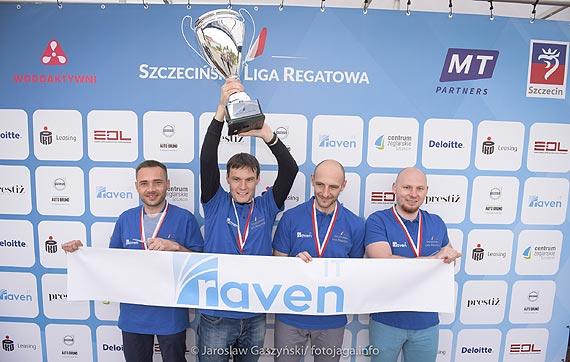 Aleksander Waszkiewicz wygrywa Szczecińską Ligę Regatową