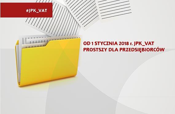 Od 1 stycznia 2018 r. JPK_VAT prostszy dla przedsiębiorców