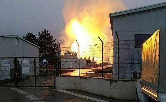 Eksplozja w terminalu gazowym w Austrii! Są ranni!