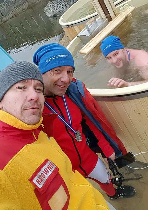 Świnoujścianie  na IV Mistrzostwach Polski w Pływaniu Zimowym