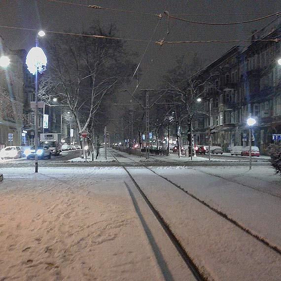 Zimowe warunki - uważaj na drodze!