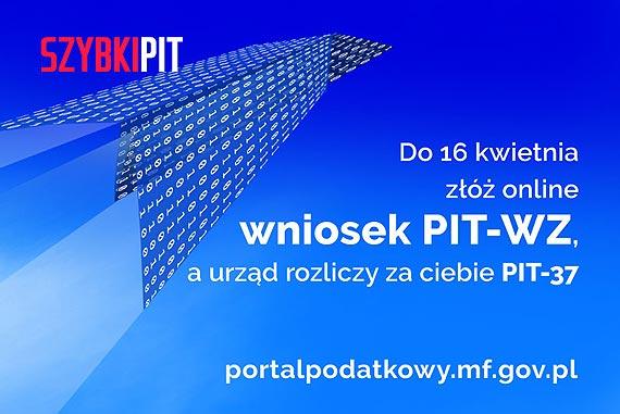 Rozlicz PIT z administracją skarbową – złóż wniosek PIT-WZ