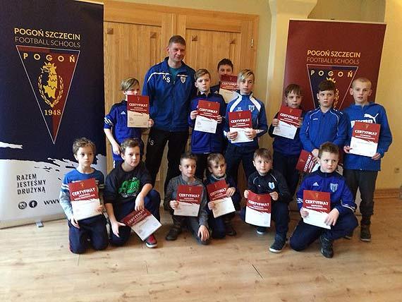 Obóz treningowy młodych piłkarzy Floty Świnoujście w Niechorzu