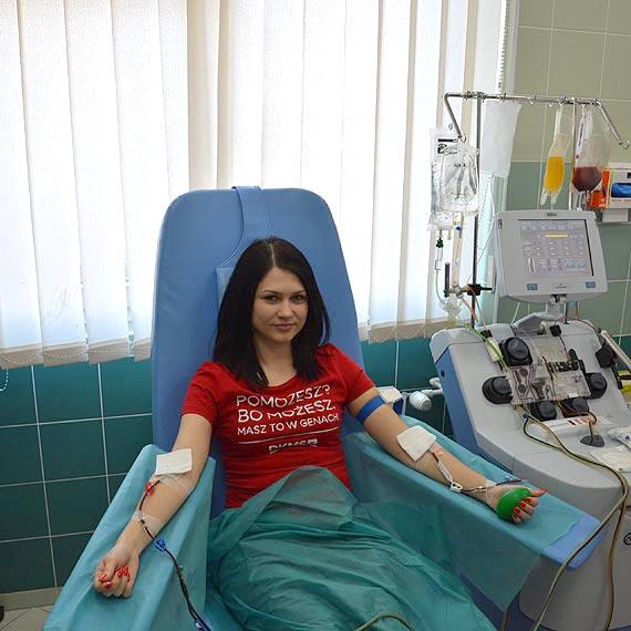 22-letnia Estera została 5000 Dawcą szpiku z bazy Fundacji DKMS i dała szansę na nowe życie potrzebującemu Pacjentowi