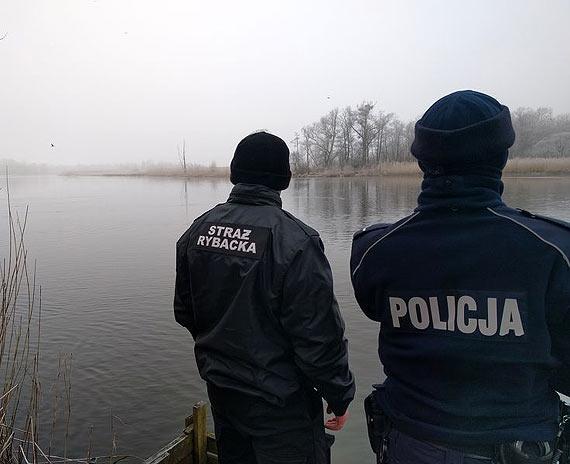 Wspólne kontrole policyjnych wodniaków i Społecznej Straży Rybackiej