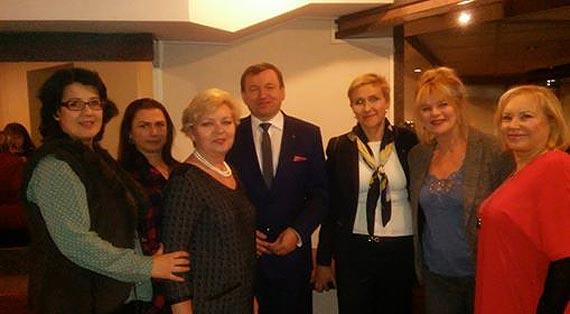 Wizyta posłanki PSL Urszuli Pasławskiej w Świnoujściu