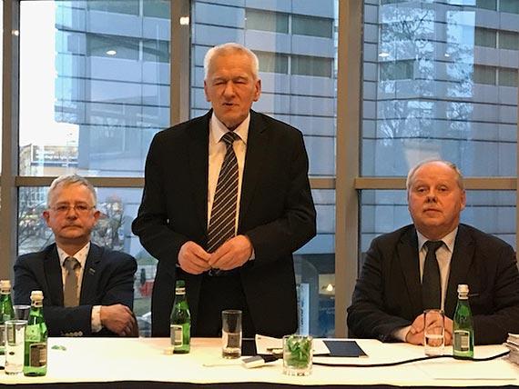 Kornel Morawiecki na spotkaniu Wolnych i Sprawiedliwych