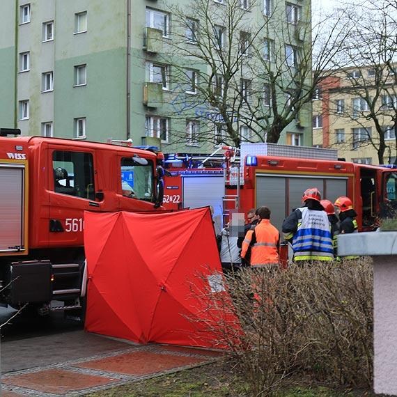 Strażacy udzielili pierwszej pomocy mężczyźnie