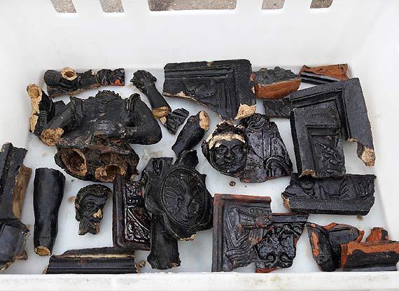 Na terenie Zakładu Karnego w Nowogardzie odkryto zabytkowe elementy