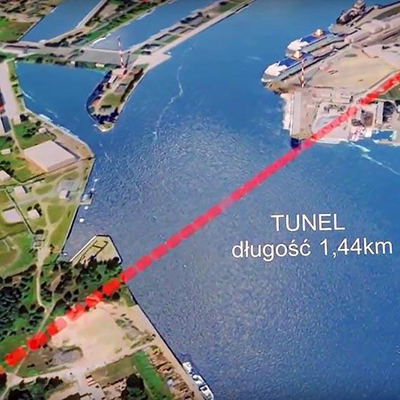 Ponowny wybór oferty najkorzystniejszej w przetargu na realizację tunelu w Świnoujściu