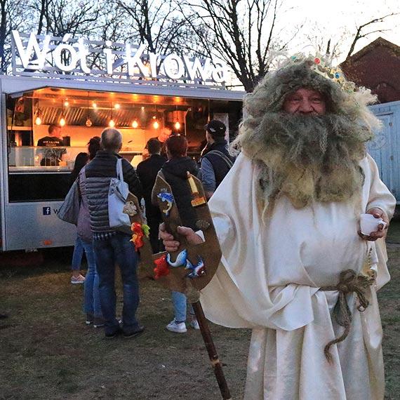 Na festiwal Food Trucków przypłynął sam Neptun! Niestety, Władca mórz wrócił do domu głodny. Zobacz film!