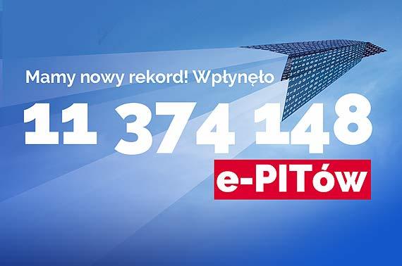 Rekordowe 11,3 mln PIT-ów przez Internet za 2017 r.