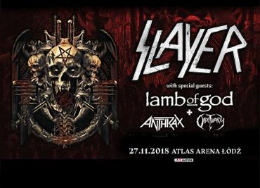 Slayer w Polsce - pożegnalna trasa koncertowa!