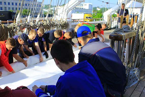Uczniowie ZSM w Rejsie Niepodległości
