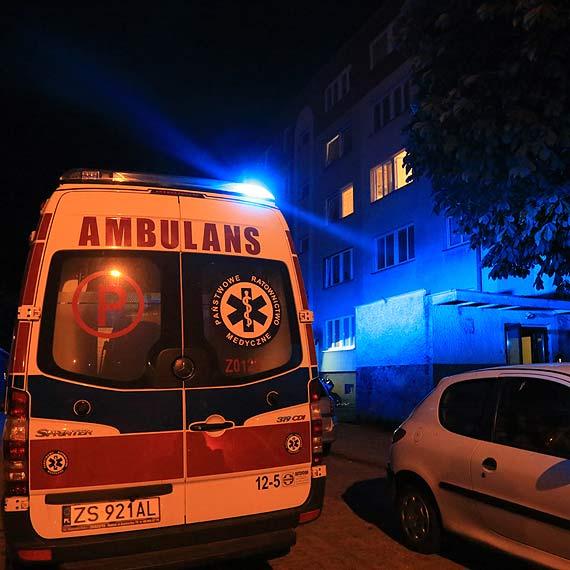 Zapaliły się kartonowe opakowania - musieli interweniować strażacy