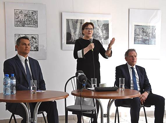 Premier Ewa Kopacz w Świnoujściu