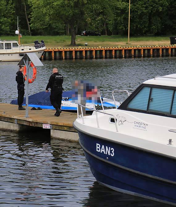 Złodziej, który włamał się do łódek cumujących na marinie, wpadł z łupem w ręce policji