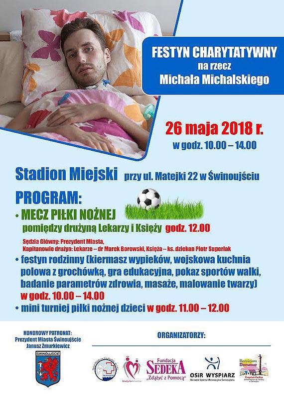 Festyn charytatywny na rzecz Michała Michalskiego