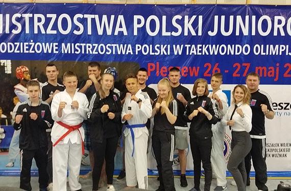 Mistrzostwa Polski Juniorów oraz młodzieżowe Mistrzostwa Polski w taekwondo olimpijskim – Pleszew 2018