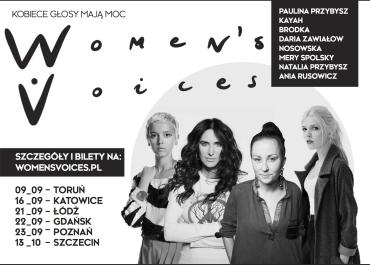 """""""Womens Voices"""" rusza w trasę po Polsce!"""