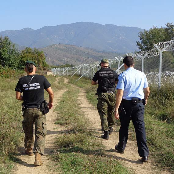 Strzegą granic nie tylko w Polsce