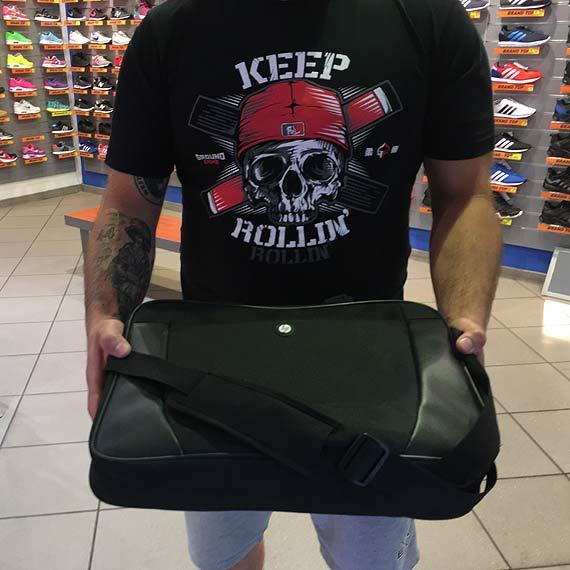 Czytelnik szuka właściciela zgubionego laptopa HP w sklepie Brand Top