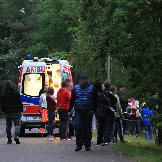Wypadek na pokazie Monster Truck?  Na miejsce wezwani zostali policjanci i ratownicy medyczni