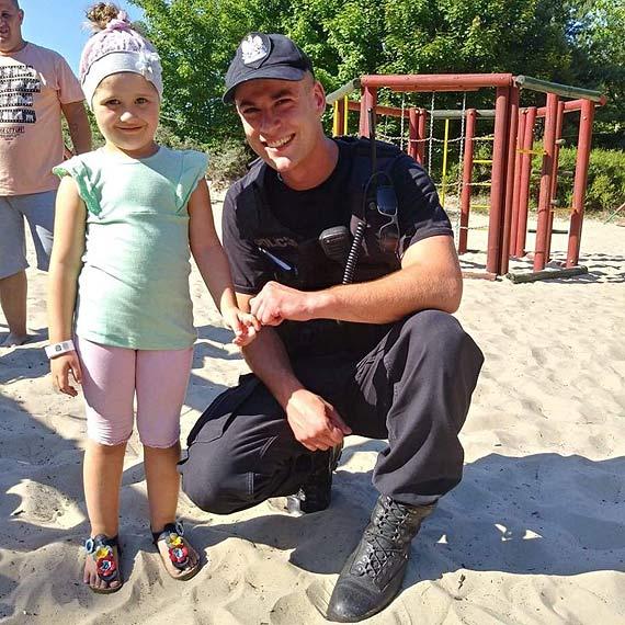 """""""Bezpiecznie nad Morzem"""" z policjantami OPP w Szczecinie"""