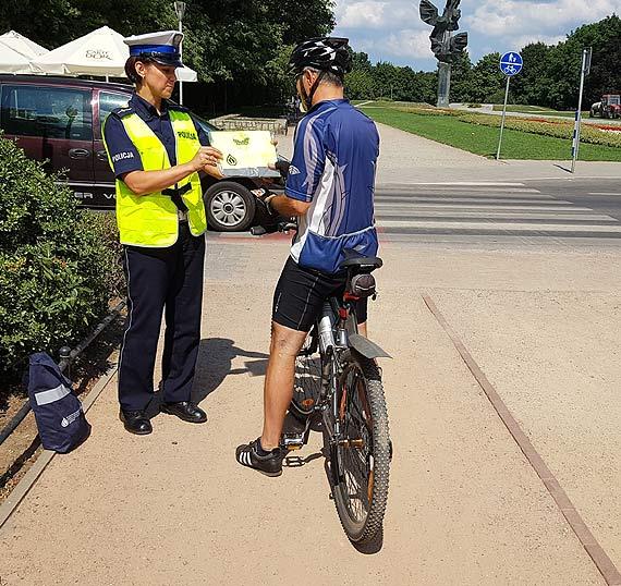 Bezpieczny rowerzysta