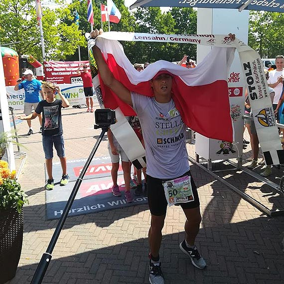 Robert Karaś mistrzem i rekordzistą świata w potrójnym Ironmanie! Ultraheros!