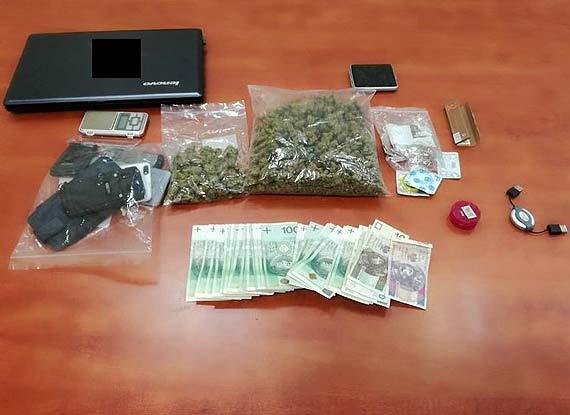 W mieszkaniu, gdzie przebywała zaginiona policjanci znaleźli blisko 250 gramów narkotyków