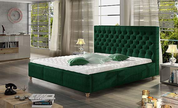 Sypialnia w odcieniu butelkowej zieleni. Sprawdź, jak ją zaaranżować
