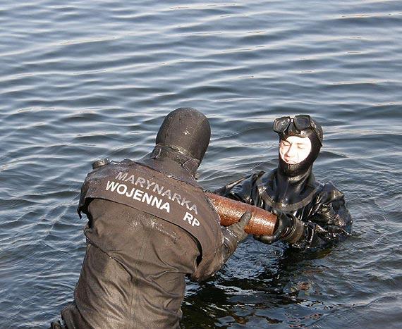 Akcji neutralizacji niewybuchów w Kołobrzegu