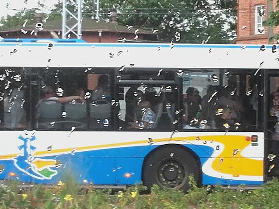 Autobus mieści 96 osób. Tak można podróżować