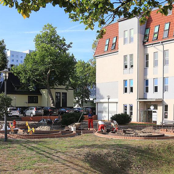 """""""Ogród zmysłów"""" to nowa inwestycja na terenie szpitala miejskiego"""