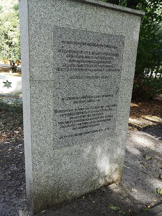 Jedne pomniki zostały wyszorowane, inne zapomniane