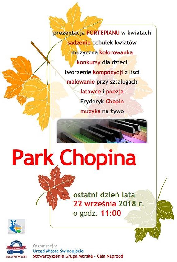 Projekt Park Chopina muzyczny i kolorowy