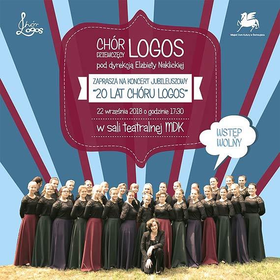 Gratka dla wielbicieli chóru Logos - już jutro odbędzie się koncert z okazji 20-lecia jego istnienia