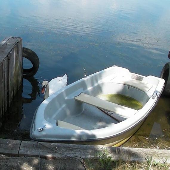 Dzięki Waszej pomocy skradziona łódka odnalazła się!