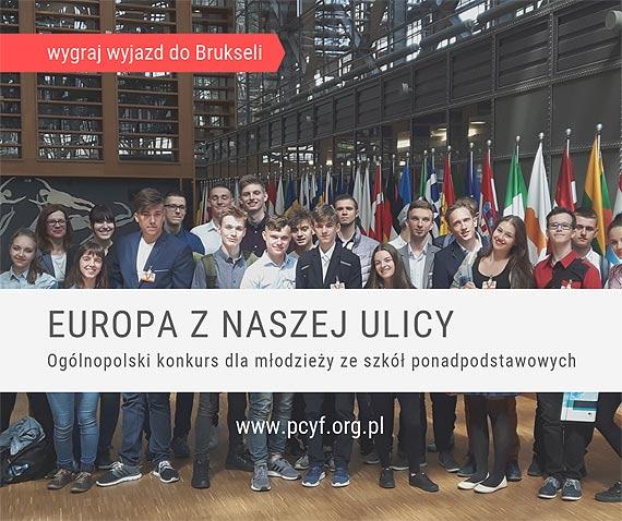 """Ruszyła druga edycja ogólnopolskiego konkursu """"Europa z naszej ulicy"""""""