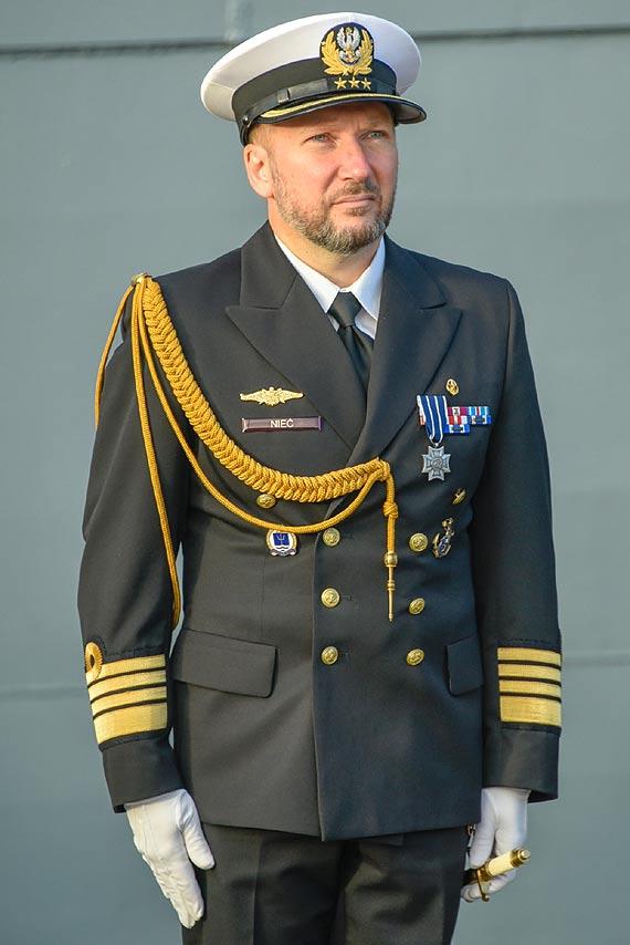 Przekazanie obowiązków dowódcy 8. Flotylli Obrony Wybrzeża
