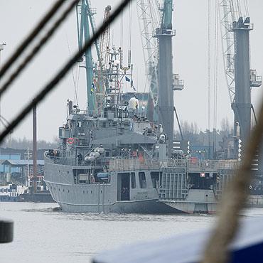 O.R.P. Kontradmirał Xawery Czernicki na stulecie Niepodległości wypożyczony do Szczecina