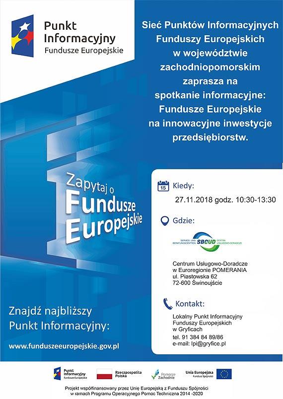 Do 4 mln złotych na inwestycje przedsiębiorstw ze środków Unii Europejskiej