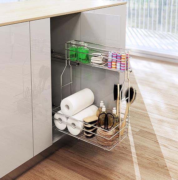 Akcesoria meblowe w małej kuchni – kilka pomysłów, jak je wykorzystać
