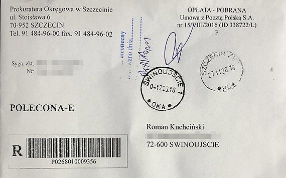 Prezent Mikołajkowy dla władz Świnoujścia. Rusza śledztwo w sprawie mostu